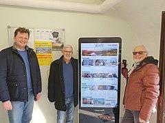 Neuer Info Terminal in Mauthausen